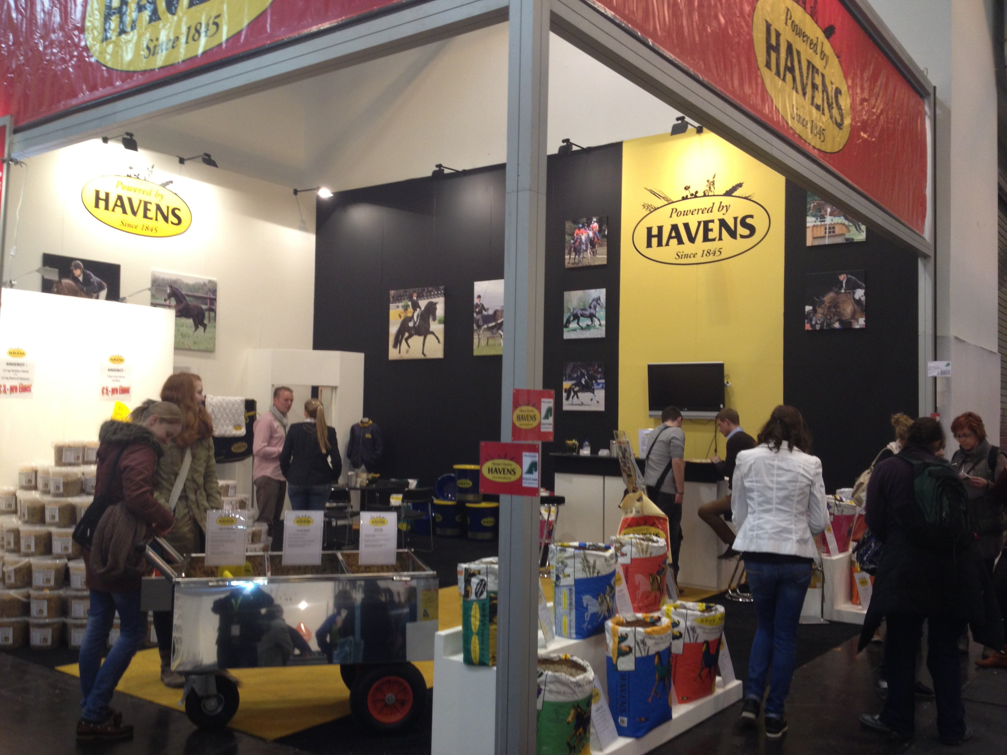 Havens - The official supplier - Equitana 2013